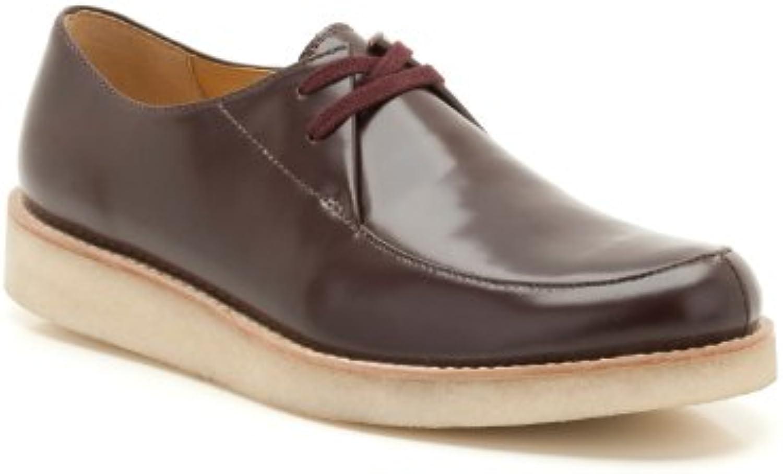 Clarks Desert Rustler - Botas de cuero para hombre marrón marrón 44.5