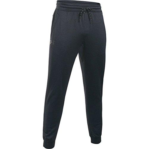 Under armour, storm af icon jogger, pantaloni sportivi, uomo, nero (black/white 003), l