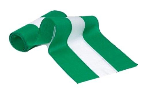Independence Wimpelkette und Flagge, 3-Streifen Baumwolle, Grün/Weiß/Grün 36-Inch