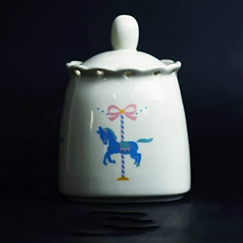 JKL Pet Cremation Urn Box Siegelbecher Dose Pet Funeral Small und Medium Special, 14x11cm - Katze Urn Foto