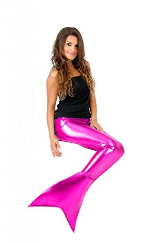 Mermaid Tail Pink Fin Costume (XXL) (Halloween Kostüme Little Mermaid)