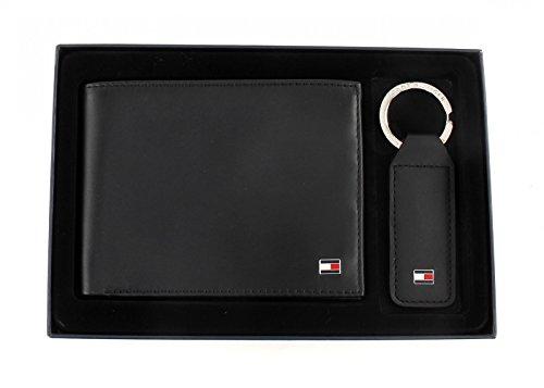 Tommy Hilfiger ETON HO CC AND COIN POCKET BOX AM0AM01183 Herren Geldbörsen 20x13x2 cm (B x H x T), Schwarz (BLACK 001 001)