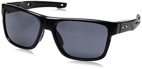 48c28cad03 Oakley Crossrange 936101 - Gafas de Sol para Hombre, Negro (Polished Black),