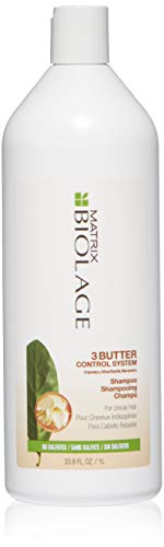 Matrix Biolage 3Butter Control system Shampoo 1000ml - cheveux indisciplinés