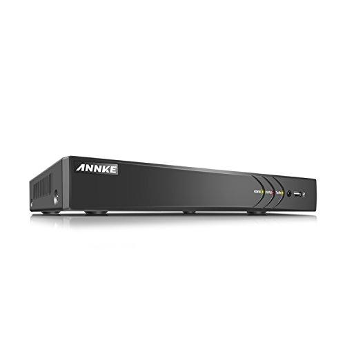 ANNKE CCTV TVI DVR Recorder Videoüberwachung 8CH 1080N Netzwerk Digital Video Recorder H.264+ für Videoüberwachung Aufzeichnungsgerät Bewegungserkennung Fernüberwachung