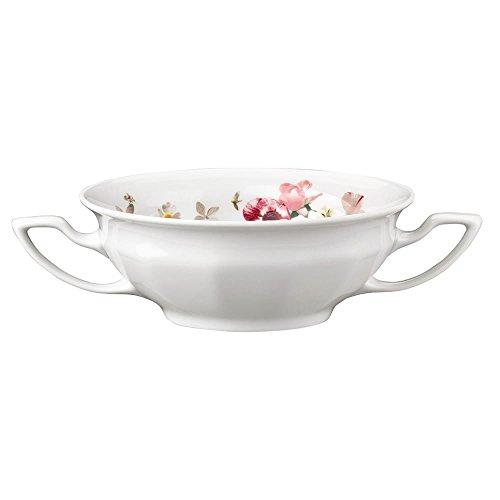 Rosenthal 10430-407165-10422 Bol Bouillon Seul Porcelaine, Rose, 42,5 x 28,5 x 6,5 cm