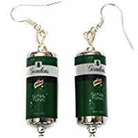 Gin and Tonic Can Earrings - G&T