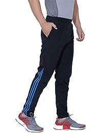 2cedd556d3e8 FINZ Men s Polyester Cotton Mix Lycra Lower Trackpants  Gymwear Nightwear Loungewear Sports