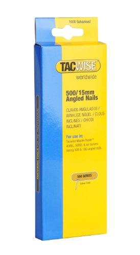 Tacwise 0971 Nägel Gewinkelt 500/15mm (1.000 Stück)