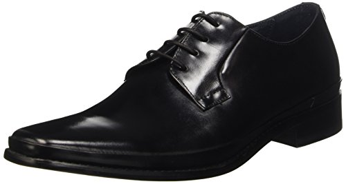 BATA 8246550, Pompes à Plateforme Plate Homme Noir (Nero)