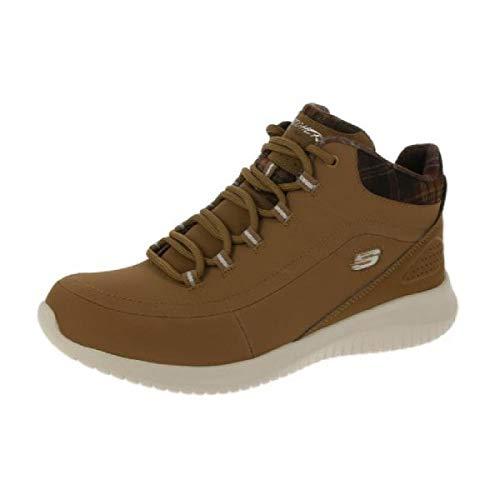 Skechers 12918 Ultra Flex Just Chill sportliche Damen Sneaker Memory-Foam Sohle, Groesse 41, Honig