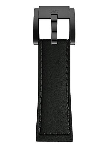 TW Steel Marc Coblen Armband Uhrenband Uhrenarmband Leder 22 MM Schwarz LB_BK_B