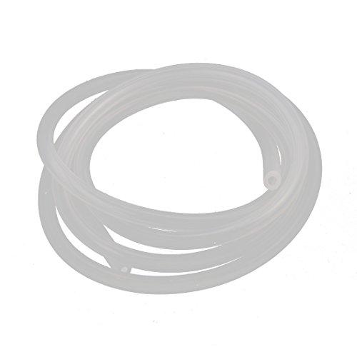 Preisvergleich Produktbild sourcingmap® 1M PVC Soft Silikon Einzel Wege Anti-Aging Benzin Tube AccessoriesD4x2.5mm