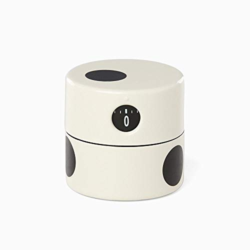 Kate Spade New York All in Good Taste Deco Dot Metal Kitchen Timer