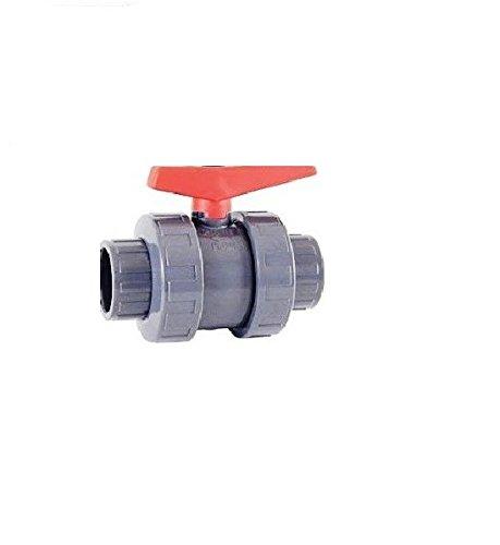'fluidra 02458 - Vanne de boule standard PVC-U (pe-epdm) colle D63