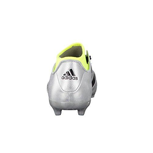 adidas Ace 16.3 Primemesh Fg/Ag J, Scarpe da Calcio Bambino Argento (Plateado (Plamet / Negbas / Amasol))