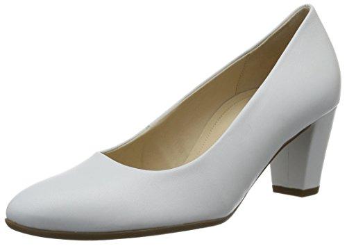 Gabor Comfort, Escarpins Femme Blanc (weiss 50)