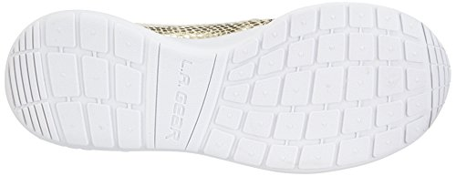 LA Gear Sunrise, Baskets mode homme Or - Gold (Gold-Wht 04)