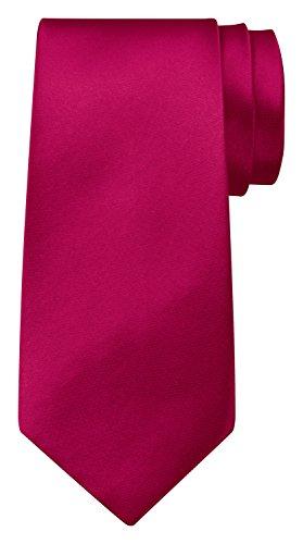 BomGuard Krawatte einfarbig 8 cm breit in Pink