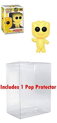 FunkoPOP Sour Patch Kids: Lemon Sour Bundled w/ Pop Box Protector Case