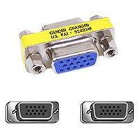 Belkin Low Profile Gender Changer HDDB15-Buchse/Buchse/ verbindet zwei Kabel der gleichen Bauart -