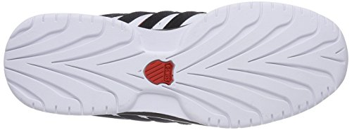 K-swiss Rinzler Sp, Sneakers Basses Homme Blanc (White/Black/Fiery Red 872)