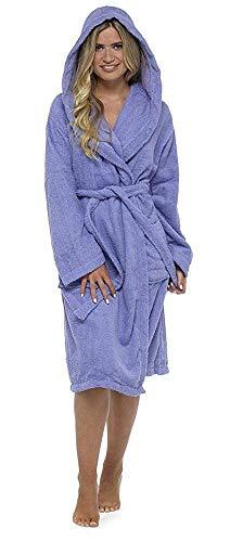 CityComfort Señoras Robe Luxury Terry Toweling