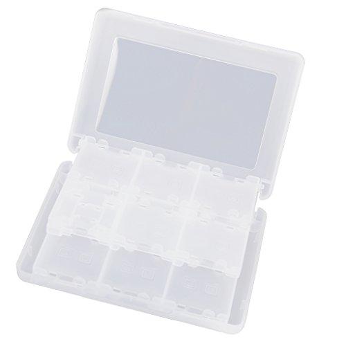 Générique 28-en-1 Etui de Protection en Plastique Boîte de Rangement de Cartes de Jeu pour New 3DS 3DS LL