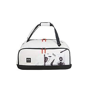 American Tourister Grab'N'Go Disney – Bolsa de Viaje/Mochila, 54 cm, 49 L, Blanco (Stormtrooper Geometric)