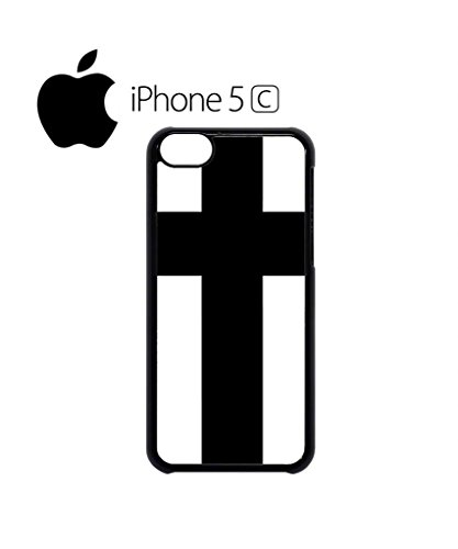 Cross Religion Mobile Cell Phone Case Cover iPhone 5c Black Schwarz