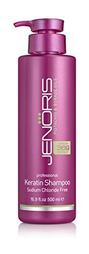 Jenoris pistacho y aceite de borraja Profesional Queratina Shampoo - Cloruro de Sodio gratuito