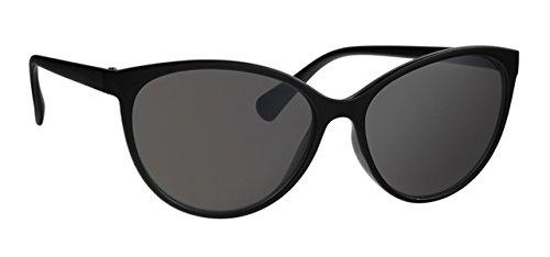 Sonnenbrille UAF647F1 Damen Brille Fassung schwarz, Linse grau