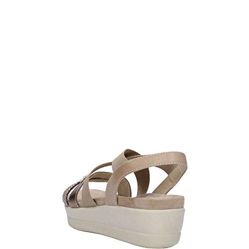 ENVAL SOFT donna sandali con plateau 59692/00 Bianco