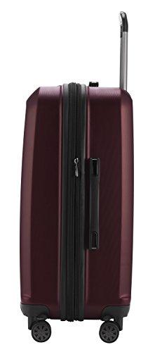 HAUPTSTADTKOFFER - X-Berg - Koffer Trolley Hartschalenkoffer, TSA, 75 cm, 128 Liter, Burgund - 3