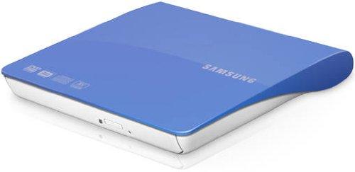 Samsung SE-208DB - Grabadora de DVD externa (USB 2.0/3.0), azul