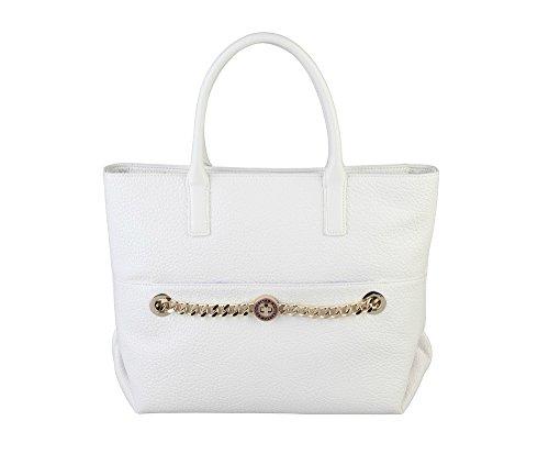 Versace, Borsetta da polso donna bianco bianco
