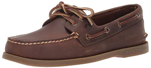 Sperry Athletic Sneakers (SPERRY Men's A/O 2-Eye Richtown Brown 8.5 M US)