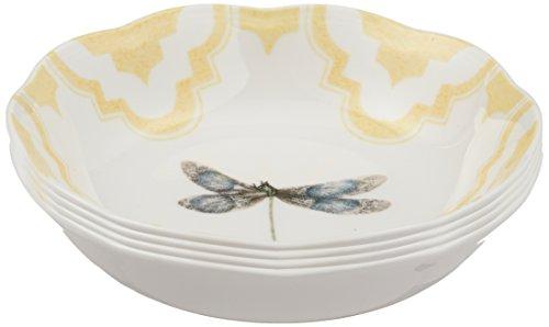 Lenox Butterfly Meadow Trellis Fruit Bowls (Set of 4), White by Lenox Garten Bowl-set