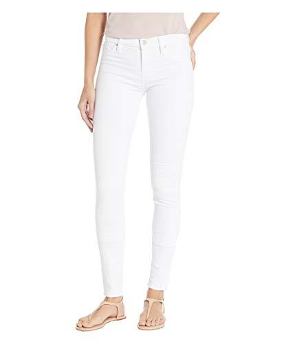 HUDSON Women's Nico Supermodel in White (Hudson Skinny Weiße)