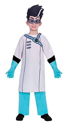 Fancy Me Offizielles PJ Masken Genius Romeo Bösewicht Anti-Hero TV-Buch Film Show Charakter Kostüm ()