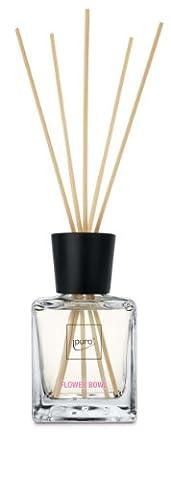 Ipuro Flower Bowl Diffuser, Verre, Transparent, 7,25 x 8,4 x 26,8 cm