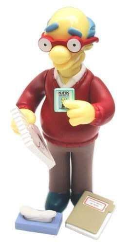 Simpsons Kirk Van Houton Figure by Playmates 1