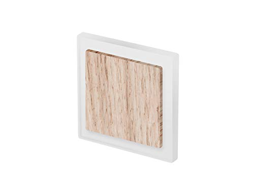 ARCOLED LED Oberflächenmontage Treppenleuchte Treppen Wandleuchte quadrat eichenholz -