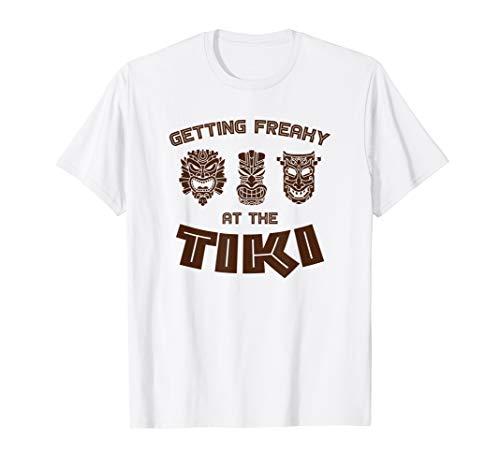Erster freaky an der Tiki Luau Party Hawaii-T-Shirt
