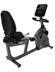 Life Fitness Liegeergometer RS3 mit Track Connect Konsole inkl. Bodenschutzmatte und Pulsbrustgurt