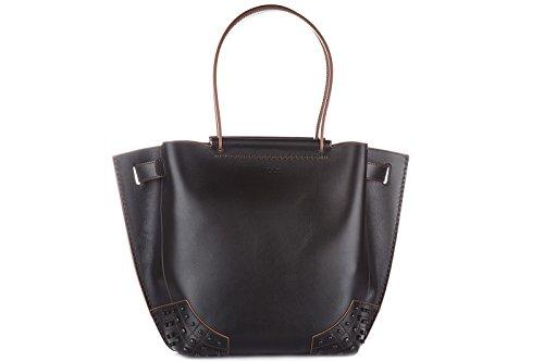 tods-borsa-donna-a-spalla-shopping-in-pelle-nuova-wave-nero