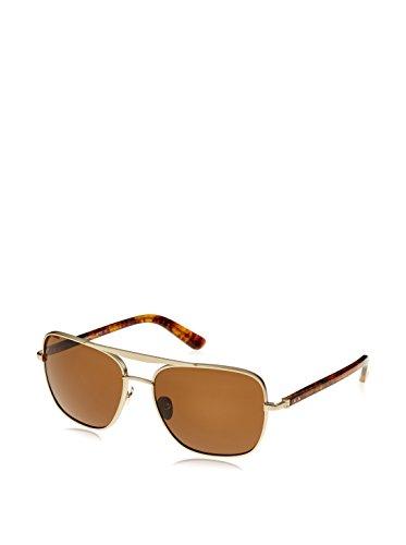 Calvin Klein Unisex Sonnenbrille CK7380S, Braun (Light Gold/Brown), One size