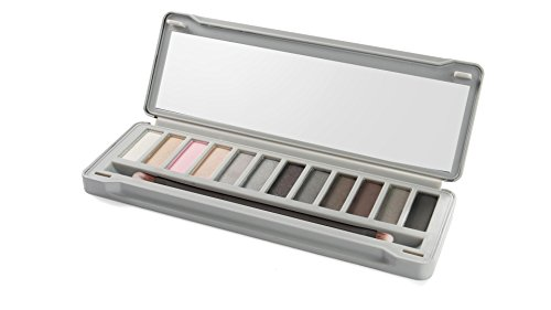 IDC Color Tin Box Eyeshadows Palette, Smoky