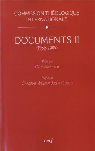 Documents : Volume 2 (1986-2009)