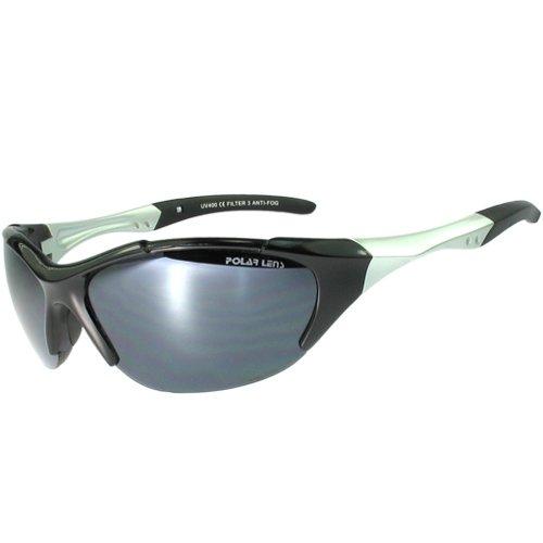 POLARLENS SERIES KP10-01 Sportbrille / Radbrille / Skibrille mit SUPER-ANTI-FOG. Hervorragende Sonnenbrille für den Wintersport und Radsport. Wird mit einer Microfasertasche ausgeliefert !
